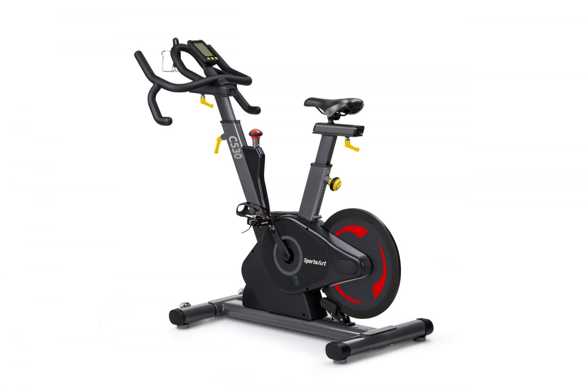 STATUS SERIES COMMERCIAL INDOOR CYCLE WITH REAR FLYWHEEL - SPORTSART (C530)