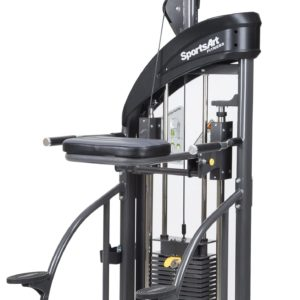SELECTORIZED ASSISTED CHIN / DIP MACHINE - SPORTSART (DF207)