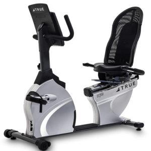 TRUE ES700 Recumbent Exercise Bike With Emerge Console - ES700R