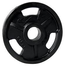 CAP OLYMPIC RUBBER COATED GRIP PLATE - 10 LB