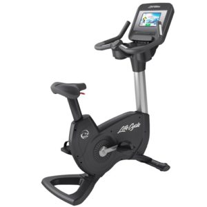 Life Fitness Platinum Club Series Upright Bike With Discover SI Console