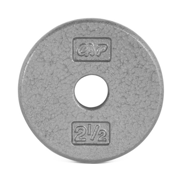 CAP STANDARD CAST IRON PLATE - GRAY - 2.5 LB