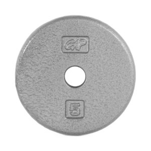 CAP STANDARD CAST IRON PLATE - GRAY - 5 LB