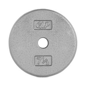 CAP STANDARD CAST IRON PLATE - GRAY - 7.5 LB