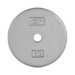 CAP STANDARD CAST IRON PLATE - GRAY - 10 LB