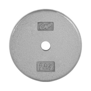 CAP STANDARD CAST IRON PLATE - GRAY - 12.5 LB
