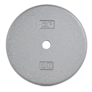 CAP STANDARD CAST IRON PLATE - GRAY - 25 LB