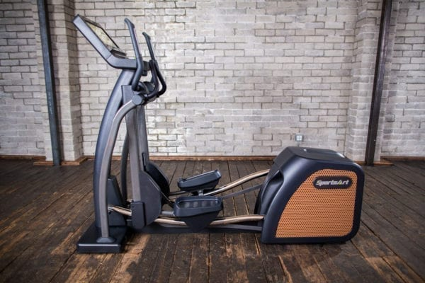 E876 STATUS SERIES ECO-NATURAL CLUB COMMERCIAL GRADE ELLIPTICAL – SPORTSART (E876)