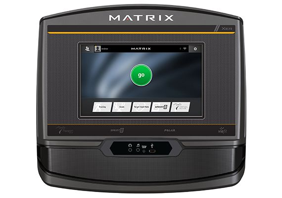 Matrix T75 Treadmill | XER Console