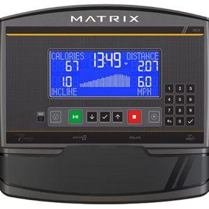 Matrix Fitness TF50 Treadmill | XR Console
