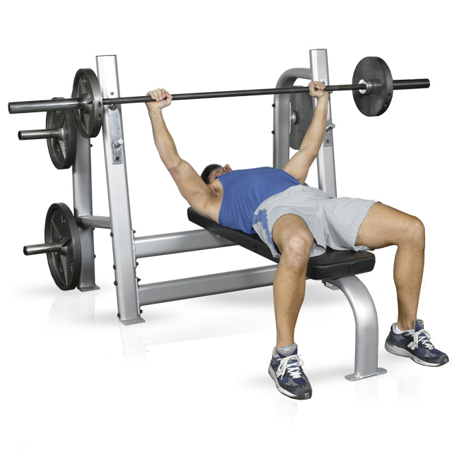 Inflight Olympic Bench w/ Weight Horns