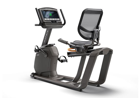 Matrix Fitness R30 Recumbent Exercise Bike | XIR Console