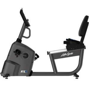Life Fitness RS1 Lifecycle Exercise Bike With TRACK Console