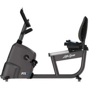 Life Fitness RS3 Lifecycle Exercise Bike With Track Console