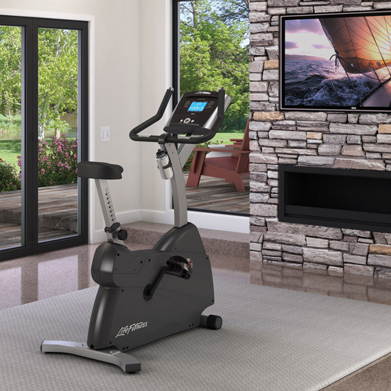 Life Fitness C1 Lifecycle Exercise Bike With Go Console