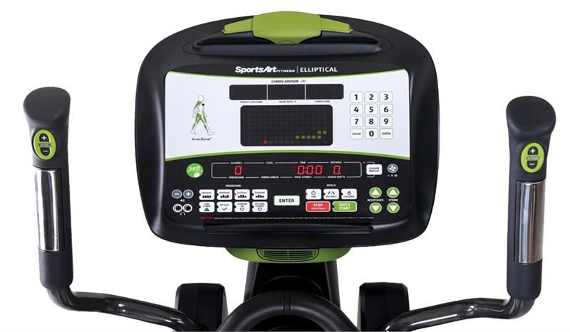 E845S PERFORMANCE SERIES COMMERCIAL ELLIPTICAL TRAINER - SPORTSART (E845S)