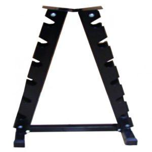 Hudson Steel Studio 6-Pair Vertical Dumbbell Rack