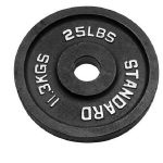 25LBS Urethane Olympic Weight Plate-07
