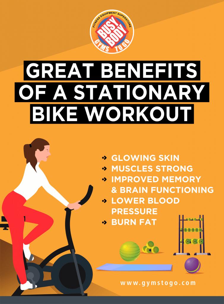 great benefits of a stationary bike workout