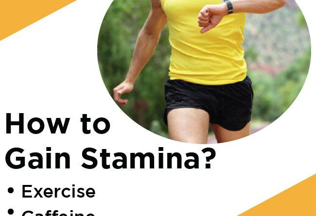 how to gain stamina