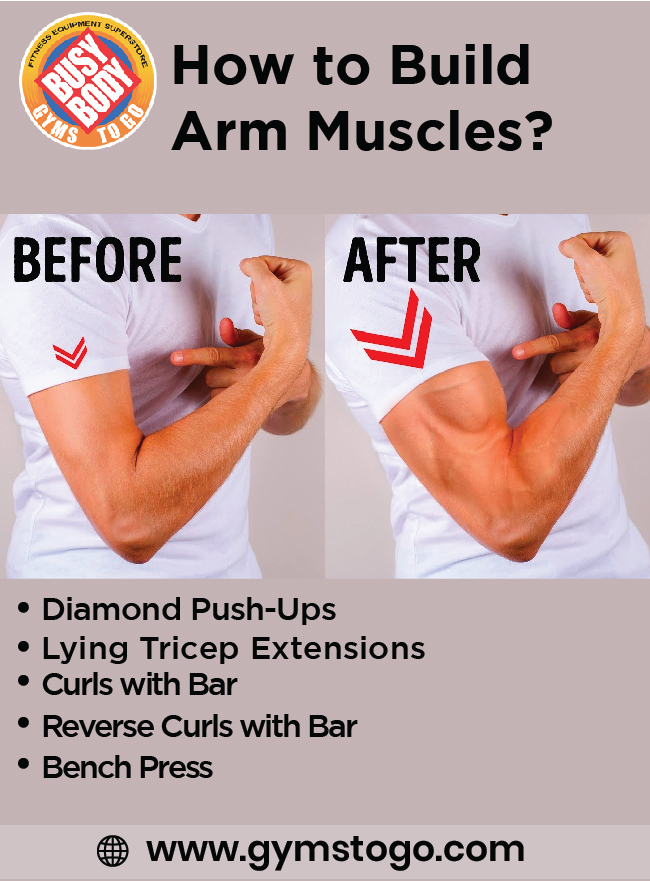 How to Build Arm Muscles?