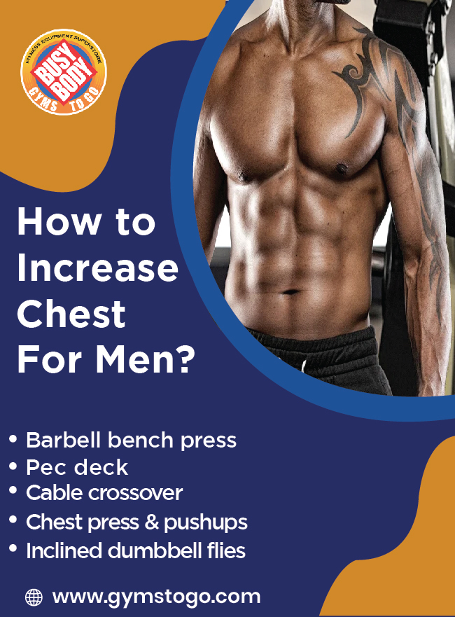 how to increase chest for men