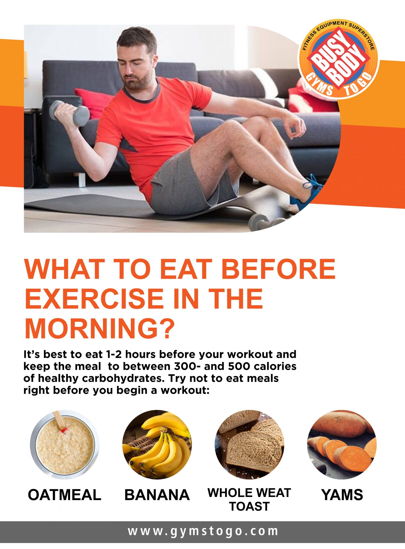 What to Eat before Exercise in the Morning